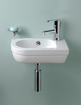 Silverdale Richmond 410mm 1 Tap Hole Micro Sink