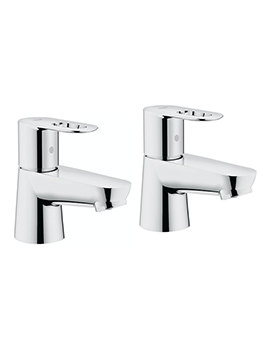 Grohe BauLoop Pair Of Basin Taps - 2042200M