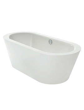 Starlet Oval Silhouette 1750 x 800mm Freestanding Bath