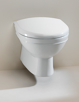 Damea Wall Mounted WC Pan - DSPANWM6WHI