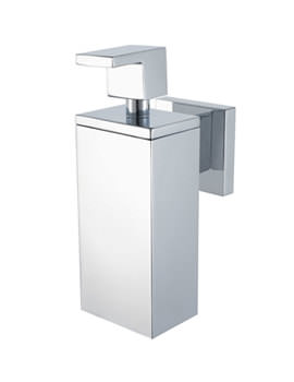 Aqualux Haceka Pro 5000 Polished Silver Soap Dispenser - 1170348