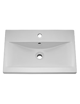 Related Hudson Reed 600mm 1 Tap Hole Mid-Edged Basin - BAS122