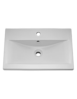 Hudson Reed 800mm 1 Tap Hole Mid-Edged Basin