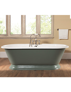 Portia Dual Roll Top Bath 1780 x 800mm - POBTH2FTWHI