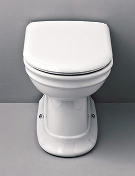Hillingdon Back To Wall WC Pan - HICLOBT6WHI