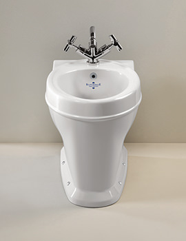 Highgrove Back To Wall 1 Taphole Bidet - HGBID1THWHIBL