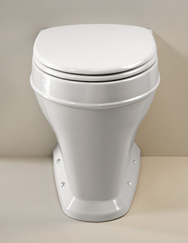 Highgrove Back To Wall WC Pan With Toilet Seat