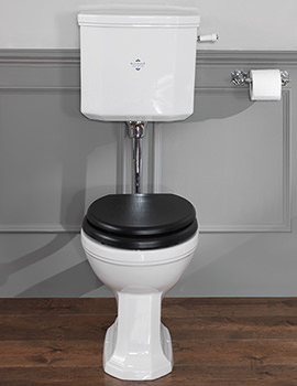 Empire Low Level WC Pan With Cistern And Fittings