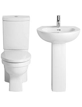 Heritage Sonic Bundle - Close Coupled WC Set And Basin
