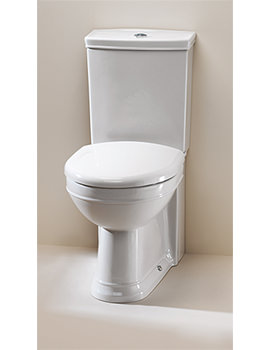 Damea Close Coupled WC Pan With Cistern And Fittings