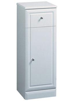 Aspen 300mm High Gloss White Storage Unit - A30FC