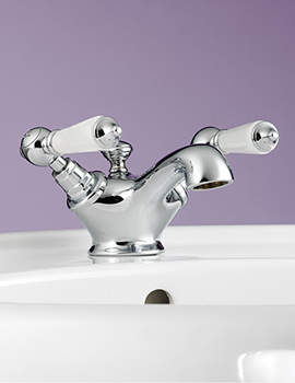 Berkeley Monobloc Basin Mixer Tap With Pop-Up Waste