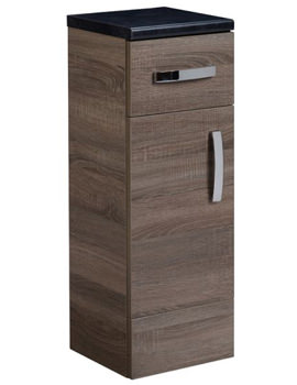 Tavistock Courier Havana Oak Floor Cupboard 300mm - CR30FCHV