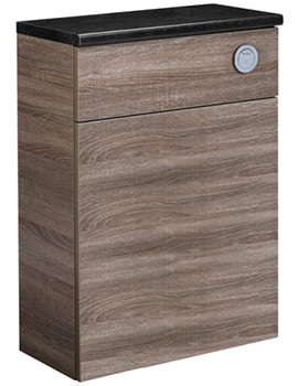 Courier Havana Oak Back To Wall WC Unit 600mm - CR6BTWHV