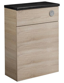 Courier Oregon Oak Back To Wall WC Unit 600mm - CR6BTWOR