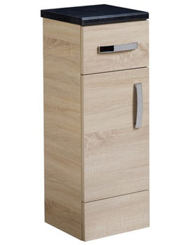 Courier Oregon Oak Floor Cupboard 300mm - CR30FCOR