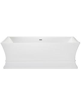 Heritage Penrose Freestanding Double Ended Acrylic Bath 1695 x 750mm