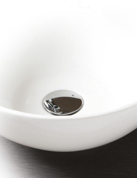 Contemporary Basin Clicker Waste Chrome - JACUNI100