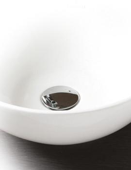 Contemporary Basin Clicker Waste Chrome - JACUNI100