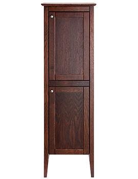 Heritage Hidcote Walnut 2 Door Freestanding Tall Boy Unit 500 x 1540mm