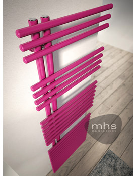 MHS Funky Heated Towel Rail 500 x 1423mm - FUN011142050