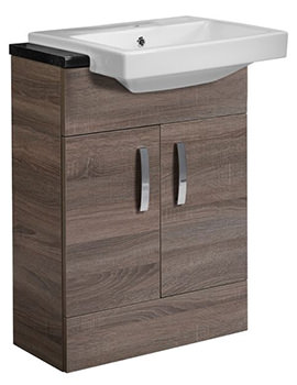 Courier Havana Oak Semi-Countertop Unit 600mm - CR6FHV