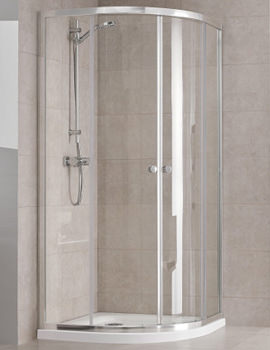 Twyford T4 Quadrant Shower Enclosure 800 x 800mm - T44700CP