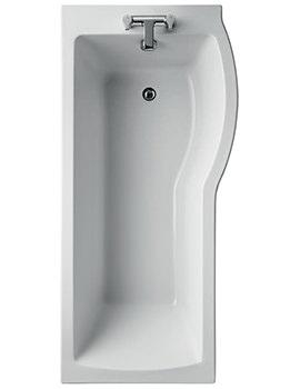 Ideal Standard Tempo Arc Idealform Right Hand 1700 x 800mm Shower Bath