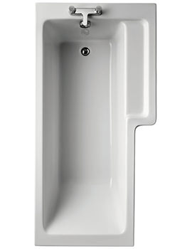 Ideal Standard Tempo Cube Idealform Right Hand 1700 x 850mm Shower Bath