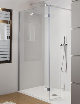 Elite Walk In Easy Access Shower Enclosure 1050mm