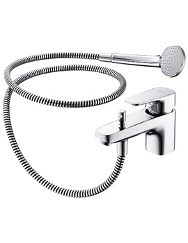 Ideal Standard Tempo 1 Hole Single Lever Bath And Shower Mixer Tap