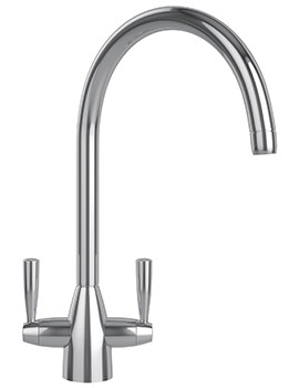Eiger Kitchen Sink Mixer Tap Chrome - 115.0049.989