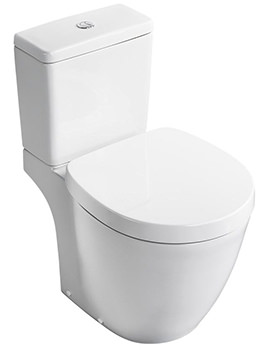 Related Ideal Standard Concept Freedom XL Close Coupled WC Pan 705mm And Cistern