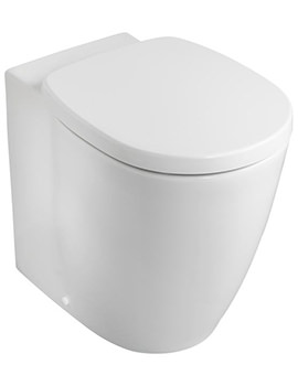 Concept Freedom Raised Height Back-To-Wall WC Pan 555mm