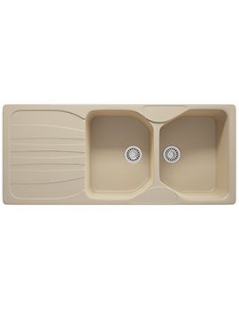Calypso COG 621 Fragranite 2.0 Bowl Kitchen Inset Sink Coffee