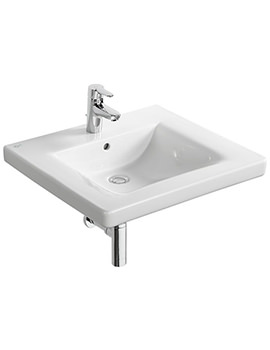 Concept Freedom 600mm No Tap Hole Accessible Washbasin