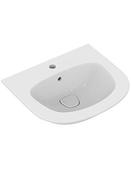 Dea 550mm 1 Tap Hole Pedestal Basin - T044101