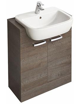 Ideal Standard Tempo Floorstanding 2 Door Vanity Unit 650mm