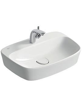 Dea 620mm 1 Tap Hole Vessel Washbasin - T044501