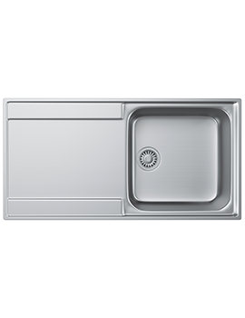 Maris Slim-Top MRX 211 Stainless Steel 1.0 Bowl Kitchen Inset Sink