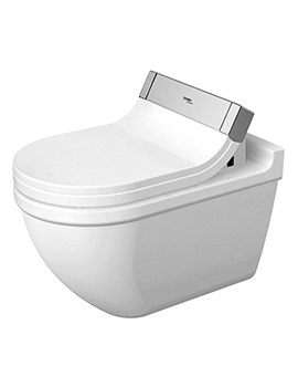 SensoWash e Seat With Starck 3 Wall Mounted WC Pan