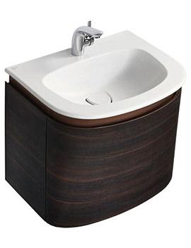 Dea 600mm 1 Tap Hole Vanity Washbasin - T044601