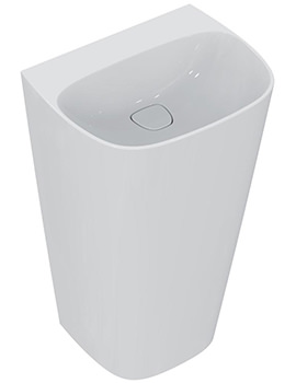 Dea 520mm No Tap Hole Totem Washbasin - T085201