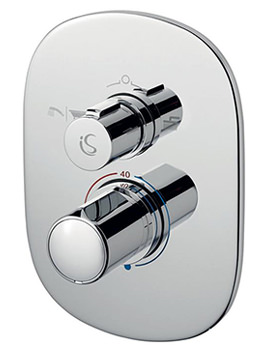 Melange Easybox Slim Built In Shower Valve With Diverter