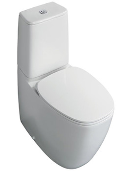 Dea Aquablade Close Coupled Back-To-Wall WC Pan 670mm