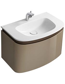 Ideal Standard Dea Wall Hung 800mm 1 Drawer Basin Unit - T7851S3