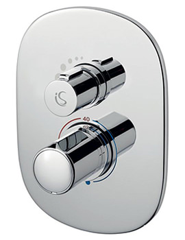 Melange Easybox Slim Built In Thermostatic Shower Valve