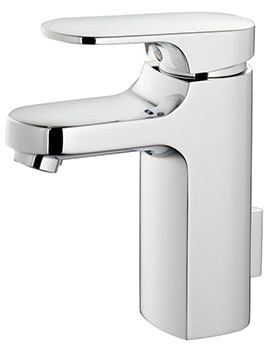 Moments Small Handrinse Basin Mixer Tap With Pop-Up Waste