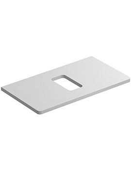 Related Ideal Standard Softmood 800mm Worktop For 550mm Vessel Basin