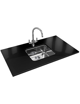 Largo Designer Pack LAX 110 45 Stainless Steel Sink And Tap